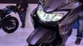 Suzuki Burgman Street headlight at 2018 Auto Expo