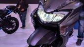 Suzuki Burgman Street headlight at 2018 Auto Expo