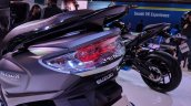 Suzuki Burgman Street tail light at 2018 Auto Expo