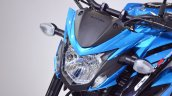 Suzuki GSX-S750 headlight at 2018 Auto Expo