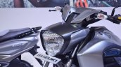 Suzuki Intruder 150 FI headlight at 2018 Auto Expo