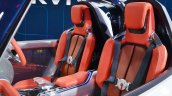 Suzuki e-Survivor concept front seats