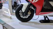 TVS Creon Concept front wheel at 2018 Auto Expo