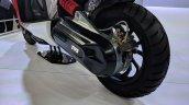 TVS Creon Concept rear wheel at 2018 Auto Expo