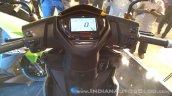 TVS Ntorq 125 India launch yellow cockpit