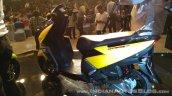 TVS Ntorq 125 India launch yellow rear left quarter