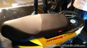 TVS Ntorq 125 India launch yellow seat