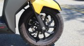 TVS Ntorq 125 front wheel first ride review