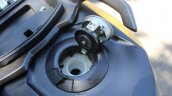 TVS Ntorq 125 fuel filler open first ride review