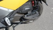 TVS Ntorq 125 pillion foot plate first ride review