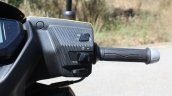 TVS Ntorq 125 right switchgear first ride review