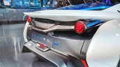Tamo Racemo± EV rear fascia at Auto Expo 2018