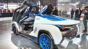 Tamo Racemo± EV rear three quarters left side at Auto Expo 2018