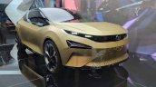 Tata 45X concept front three quarters at Auto Expo 2018