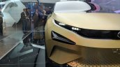 Tata 45X concept headlamp at Auto Expo 2018