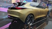 Tata 45X concept rear three quarters at Auto Expo 2018