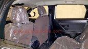 Tata H5X interior spy shots cabin