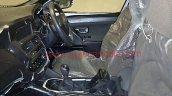 Tata H5X interior spy shots dashboard