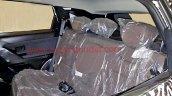 Tata H5X interior spy shots rear seat