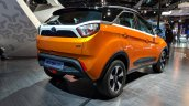 Tata Nexon AMT rear three quarters right side at Auto Expo 2018