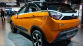 Tata Nexon AMT rear threee quarters at Auto Expo 2018