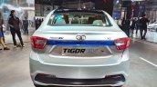 Tata Tigor EV rear at Auto Expo 2018