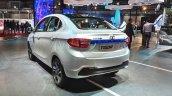 Tata Tigor EV rear three quarters at Auto Expo 2018