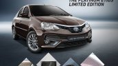 Toyota Platinum Etios Limited Edition features