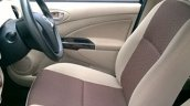 Toyota Platinum Etios Limited Edition front seat