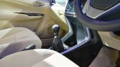 Toyota Yaris gearshift lever at Auto Expo 2018