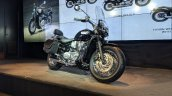 Triumph Bonneville Speedmaster Highway Kit India launch front right quarter