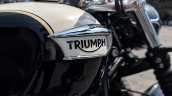 Triumph Bonneville Speedmaster India launch logo