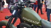 UM Renegade Duty S fuel tank at 2018 Auto Expo