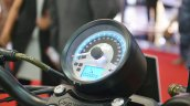 UM Renegade Duty S instrument cluster at 2018 Auto Expo