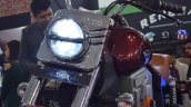 UM Renegade Thor headlight at 2018 Auto Expo
