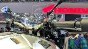 Yamaha MT-09 Tracer handlebar at 2018 Auto Expo