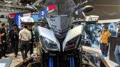 Yamaha MT-09 Tracer headlights at 2018 Auto Expo