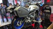 Yamaha MT-09 Tracer rear right quarter at 2018 Auto Expo