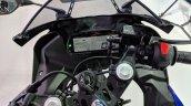 Yamaha YZF-R15 V 3.0 cockpit at 2018 Auto Expo