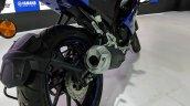 Yamaha YZF-R15 V 3.0 exhaust at 2018 Auto Expo