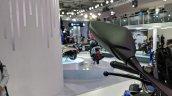 Yamaha YZF-R15 V 3.0 rear view mirror at 2018 Auto Expo