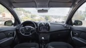 2017 Renault Logan interior dashboard