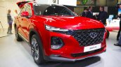 2018 Hyundai Santa Fe front three quarters at 2018 Geneva Motor Show