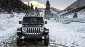 2018 Jeep Wrangler Unlimited Sahara front