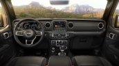 2018 Jeep Wrangler Unlimited Sahara interior dashboard