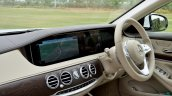 2018 Mercedes-Benz S-Class review test drive dasboard angle view