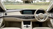 2018 Mercedes-Benz S-Class review test drive dashboard