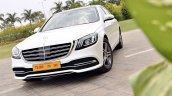 2018 Mercedes-Benz S-Class review test drive front angle close