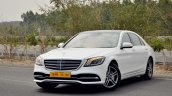 2018 Mercedes-Benz S-Class review test drive front three quarters view