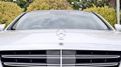 2018 Mercedes-Benz S-Class review test drive hood ornament